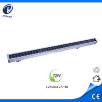 high power waterproof 72w led light bar hot sxs led light bars wall washer