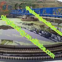 Mud scraper for textile waste water , Biological clarifier for removing the biological sludge, Sludge removing scraper