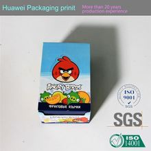 Packaging boxes supplier CMYK color customized corrugated cardboard box hamper box with handles