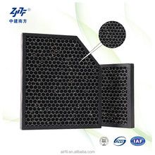 Paper honeycomb spray booth carbon filter