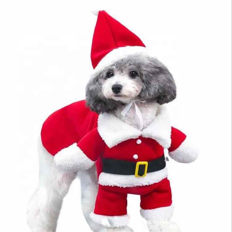 Christmas Pet Clothes For Puppy Outfits Fleece Cute Christmas Wear And Hat Pet  Clothes - Buy Christmas Pet Clothes,Puppy Outfits,Christmas Wear And Hat Pet  ... - Christmas Pet Clothes For Puppy Outfits Fleece Cute Christmas Wear