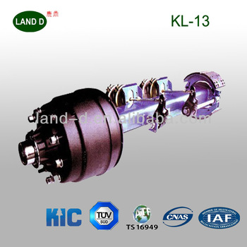 American Kic Type Square Axle Tube With Forged Spindles 13t ...