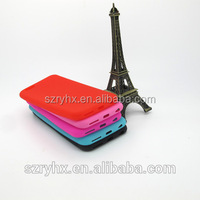 New coming cheap mobile phone case, custom design silicone 5 inch mobile phone case