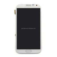 White lcd touch screen digitizer for galaxy note 2 n7100