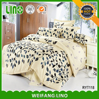 Best selling wholesale bedding set/used hotel bedspreads/feather home textile