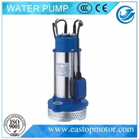 QDX-A submersible grinder pump for garden irrigation with CastIron/Brass/AISI304SS Support