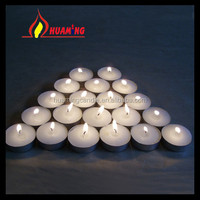 white or color plant wax scented tea light candle ---HUAMING manufacturer