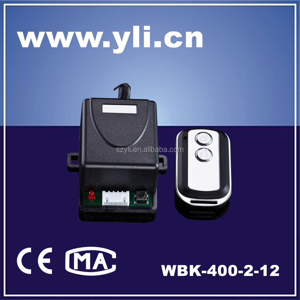 Electric remote control for access control