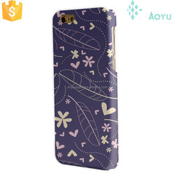 back cover waterproof caring lovely flowers phone cover for iphone