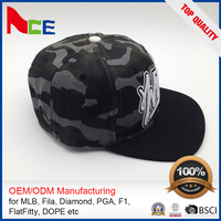 Decorative Custom Made Hip Hop Hat Cheap Snapback Fitted Cap Embroidery