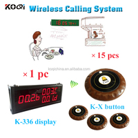 wireless electronic call bell system for reataurant with wholesale price from china supplier K-336+K-X