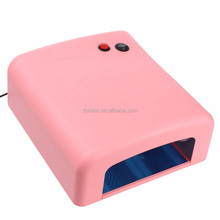 Shenzhen factory high quality and cheap price 36w 818 uv curing lamp nail 36w 4*9w 365nm uv lamp gel uv led cordless nail lamp