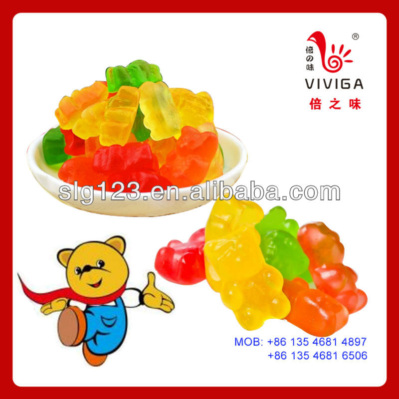 Fruit Flavor gummy candy