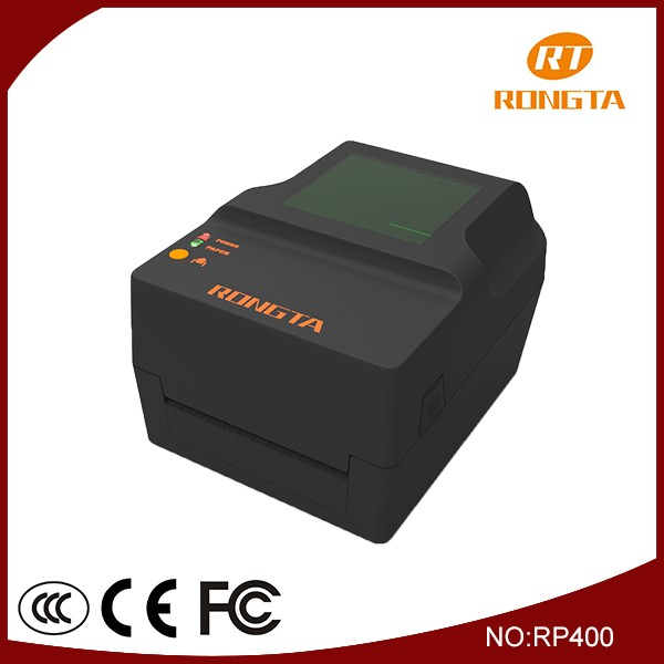 High speed thermal transfer label barcode printer RP400 Rongta