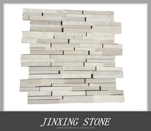 Natural white wood marble stone used exterior doors for sale and interior door (Culture stone)