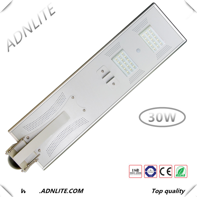 150lm/w IP65 30w pole street light with price list and street light photocell