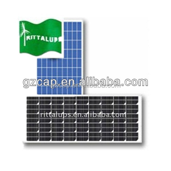 solar panels for home use and inverter 100w 150w 200w 250w 300w 18v 36v with CE certification factory direct