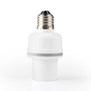 Light activated types of electric lamp holders plastic lamp socket