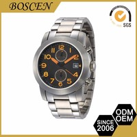 Top Class Custom Brand Movement Stainless Steel Smart Watch
