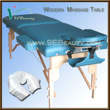 Wood Massage table/folding table legs/solid wood massage table bed