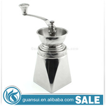 Detachable Espresso Stainless Steel Hand Crank Coffee Grinder Antique Coffee Mill Set