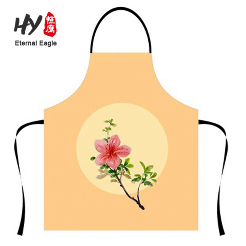 young couple kitchen romantic adult apron