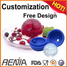 Renjia ice death star,FDA approved death star ice cube trays