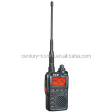 Popular portable talkie walkie with VHF and UHF UV-5H 2w pc programmable 1200mAh battery capacoty