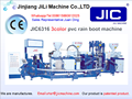 (2017)JILI 3 color pvc rain boots shoe making machine