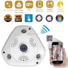 Fisheye HD 960P Panoramic VR IP WIFI 360 Degree 3D Network CCTV Security Camera
