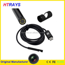 Mini 7mm 6LED lights waterproof usb endoscope you tube videos camera
