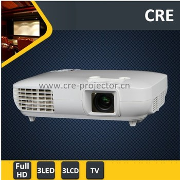 CRE X2000-VX 3000 Lumens Digital Full HD LED Projector 1080P High Quality