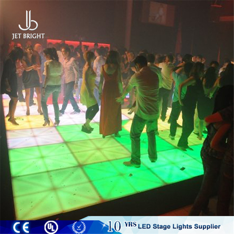 Rgb Nightclub Floor Non Slip Out Door Dance Floor Dmx