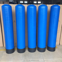 Vertical fiber reinforce plastic Water softener FRP tank