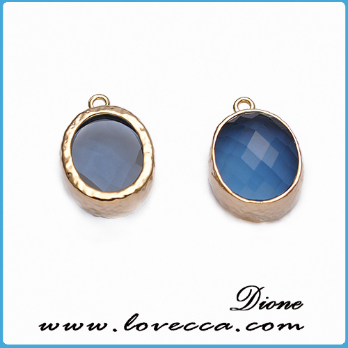 2015 druzy wholesale gold plating arrow shape agate slice druzy jewelry pendant