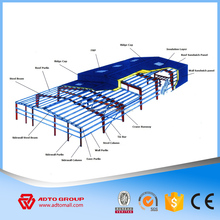 PEB Warehouse H Columns Good Price Steel Structure Rigid Frame Design Metal Structural Materials Supplier