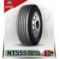 New Brand truck tire NeoTerra TBR 385/55R22.5 with quality warranty,pattern NT555 for Europe market