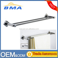 Fashion 304 Stainless Steel Wall Mounted Single Bathroom Towel Bar