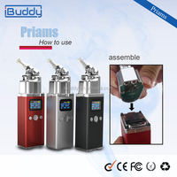 Buy Online China High Power Battery Wholesale Dry Herbal Vaporizer E Cigarette Box Mod