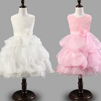 W72359G 2016 fashion baby net frocks design girls party dresses