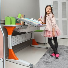 adjustable ergonomic table and chair for kids in bedroom