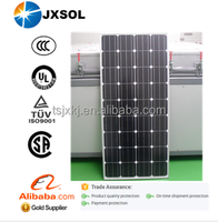 Best quality 150w mono PV solar panel price with 25 years warranty