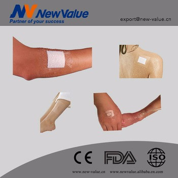 Free Sample disposable adesive transparent wound dressing