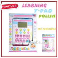 Polish & English language learning pad for kids