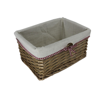 Natural hand sturdy and durable wicker basket drawer