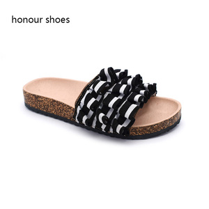cc23eb599f9 OEM customize comfortable summer 2018 cork sandals for women and ladies