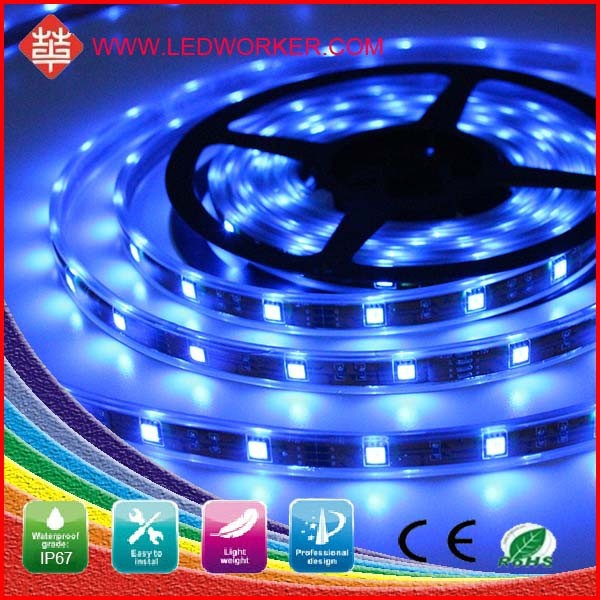 CE,ROHS Epoxy Tube Waterproof 5050 120 SMD/M IP68 High Lumen 5v Led Strip 12V Dcfrom Leddworker