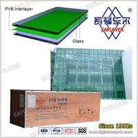 High molecule plastic clear PVB film for architectural glass