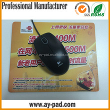 AY natural rubber customized usb heated mouse pad for promotion