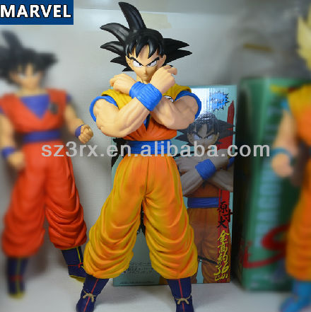 Z GOKU and krillin pvc figure toy plastic dragon ball z